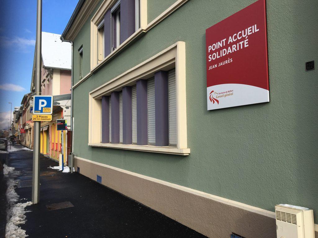 La fermeture du Point Accueil Solidarité a été évoquée ce jeudi matin en séance du conseil départemental du Territoire de Belfort.