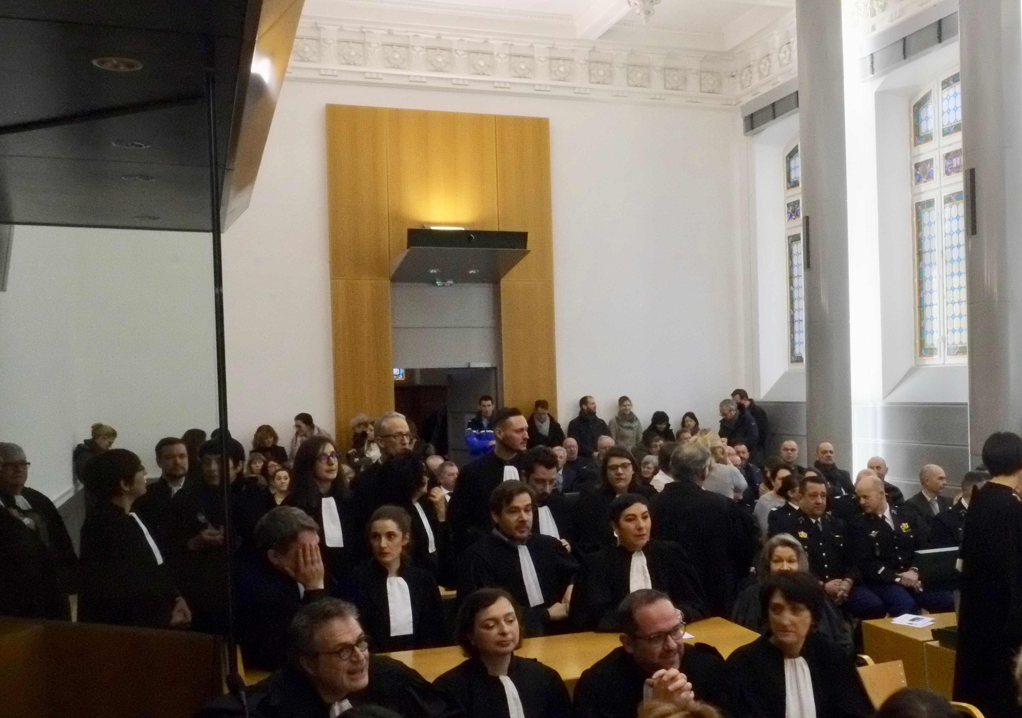 audience solennenlle tribunal