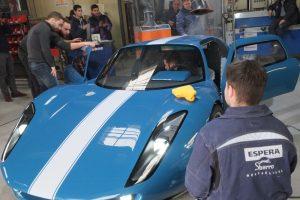Renner, le nouveau prototype de l'école Espera Sbarro.