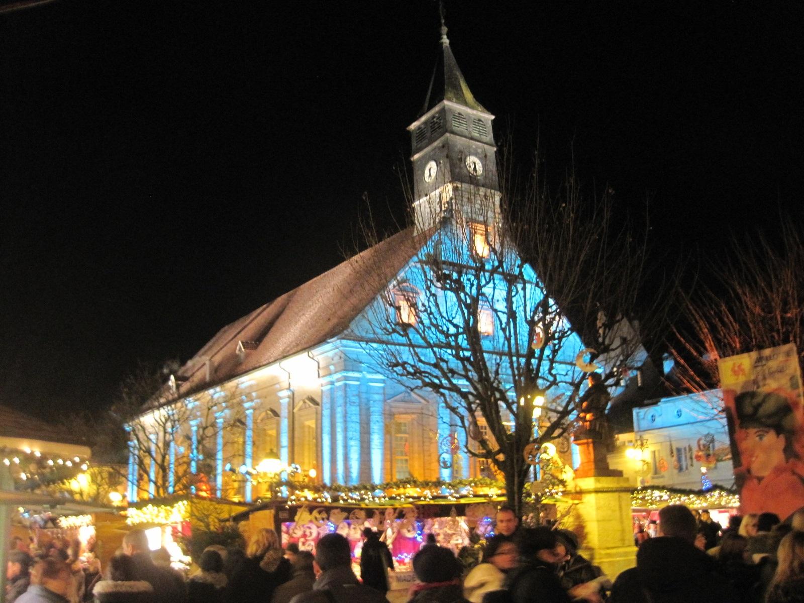 Les pays de Savoie seront invités d'honneur de cette année 2019 des Lumières de Noël de Montbéliard. (CC BY-SA 3.0)