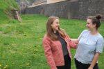 Pour l'espoir, des étudiants installent un saut à l'élastique à Belfort