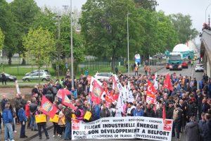 La mobilisation, organisée en quelques jours, se voulait positive et pacifiste.