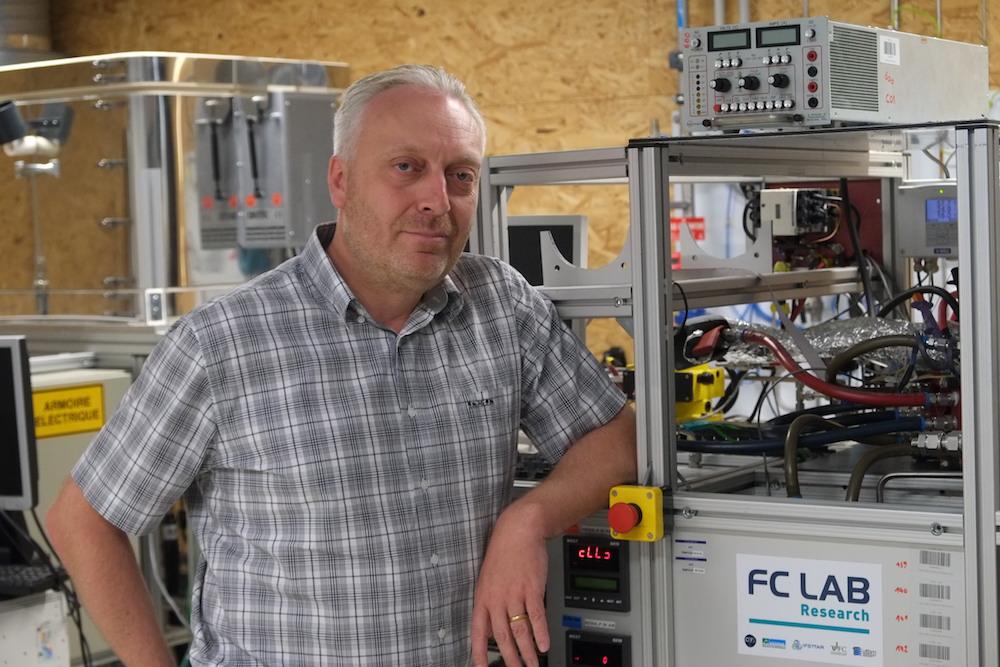 Daniel Hissel a reçu la médaille de l'innovation 2020, du CNRS