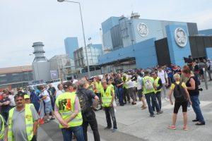 Une délégation de Gilets jaunes du nord Franche-Comté avait répondu à l'appel de l'intersyndicale ce lundi 3 juin.