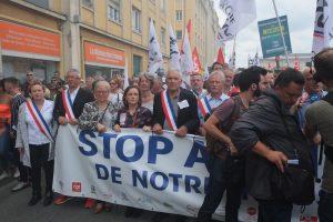 De nombreux élus du nord Franche-Comté étaient présents : Territoire de Belfort, pays de Montbéliard, Haute-Saône.