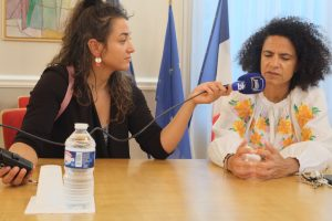 """La préfète Sophie Élizéon s'est engagée à faire remonter les informations et a rappelé l'implication """"quotidienne et personnelle"""" de Bruno Le Maire dans le dossier. Elle a aussi salué l'organisation de la manifestation."""
