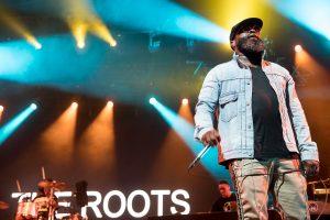 The Roots a fait un l'unanimité sous le Chapiteau, dimanche.