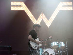 Weezer, samedi 6 juin sur la Grande scène.
