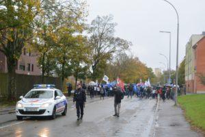 Manifestation GE Belfort octobre 2019 diaporama (5) Mélanchon