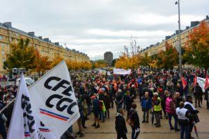Manifestation GE Belfort octobre 2019 diaporama (2)