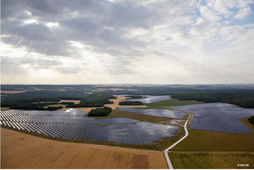 Centrale solaire Massangis_photo EDF renouvelables