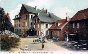 Des négociations sont en cours pour acheter l'auberge Chez Rose, installée le long de la R.N. 465. C'est un lieu historique du tourisme au ballon d'Alsace (©DR).