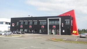 CRRI 2000 a construit le bâtiment de la Société générale, à Montbéliard, en conception-réalisation.