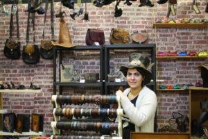 L'emblématique chapeau Steampunk, une belle pièce de la créatrice Chloé Gentet.