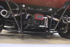 """Il faut sortir les """"tripailles"""" pour reprendre les mots de Noël Nasica, le responsable de la formation. Le moteur : V8 3.2 bi-turbo Maserati."""