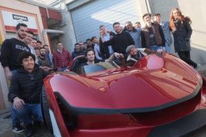 24 stagiaires ont participé à la réalisartion de ce prototype.