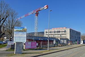 CRRI 2000 porte la conception et la réalisation de la plus grande maison de santé de France, à Belfort, pour Sereba et Tandem.