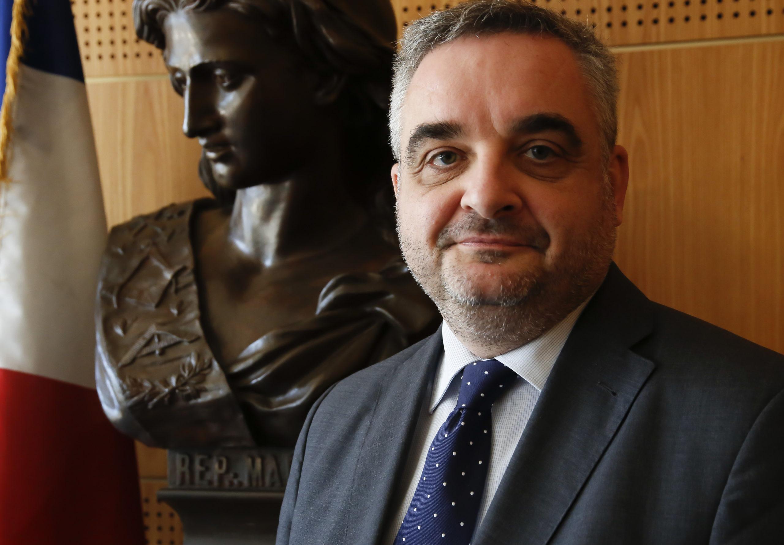 Philippe Foussier  Grand Maitre du Grand Orient de France GODF. EXCLUSIF