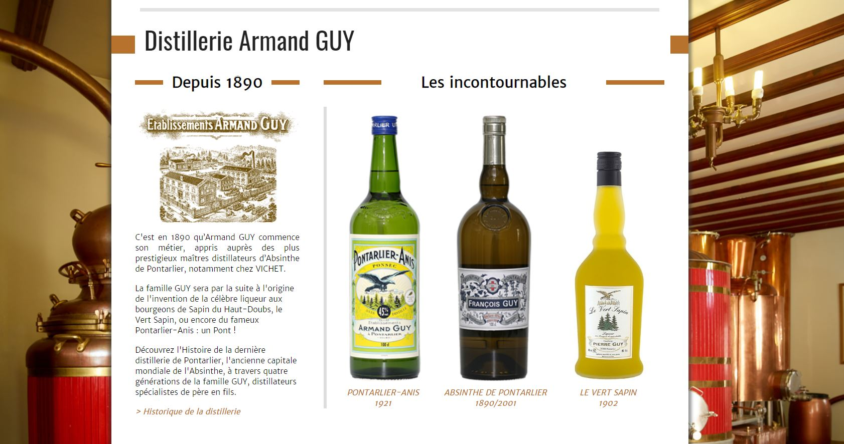 Distillerie Armand Guy Pontarlier