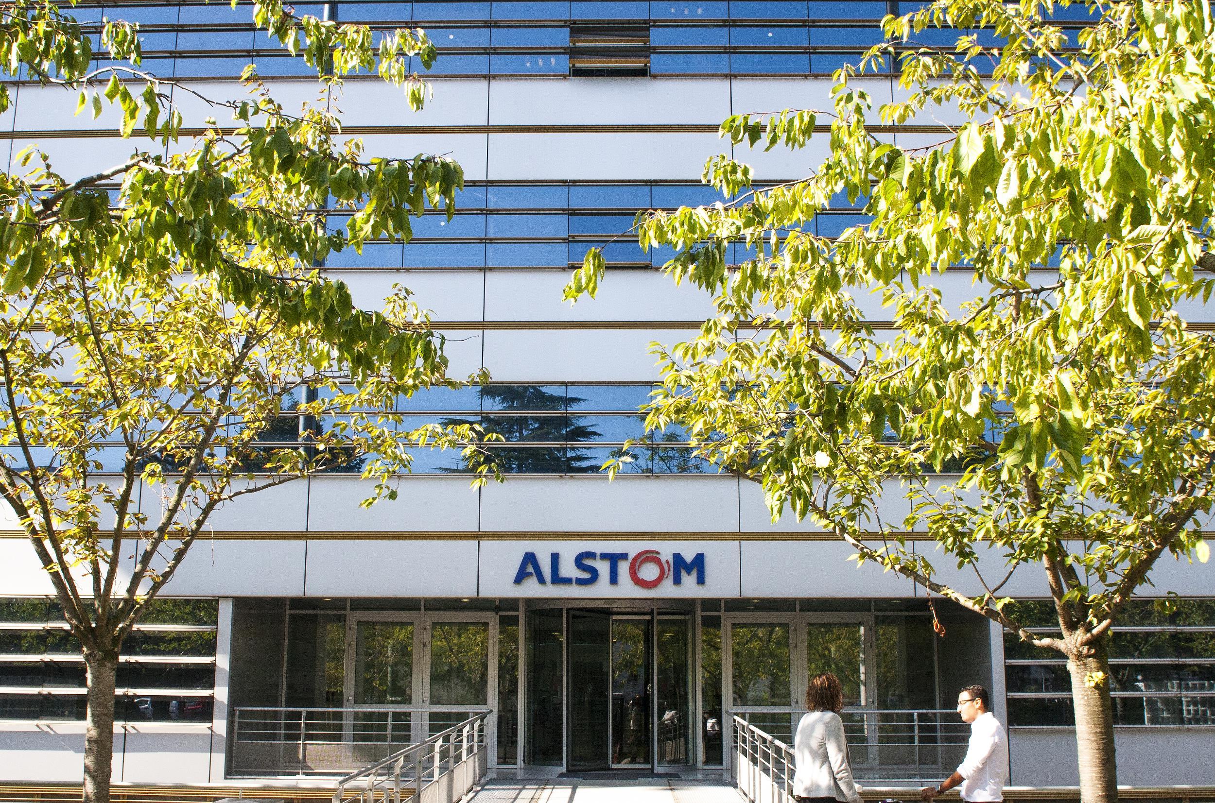 Le siège d'Alstom à Saint-Ouen (photo Alstom / Aldino Pavone )