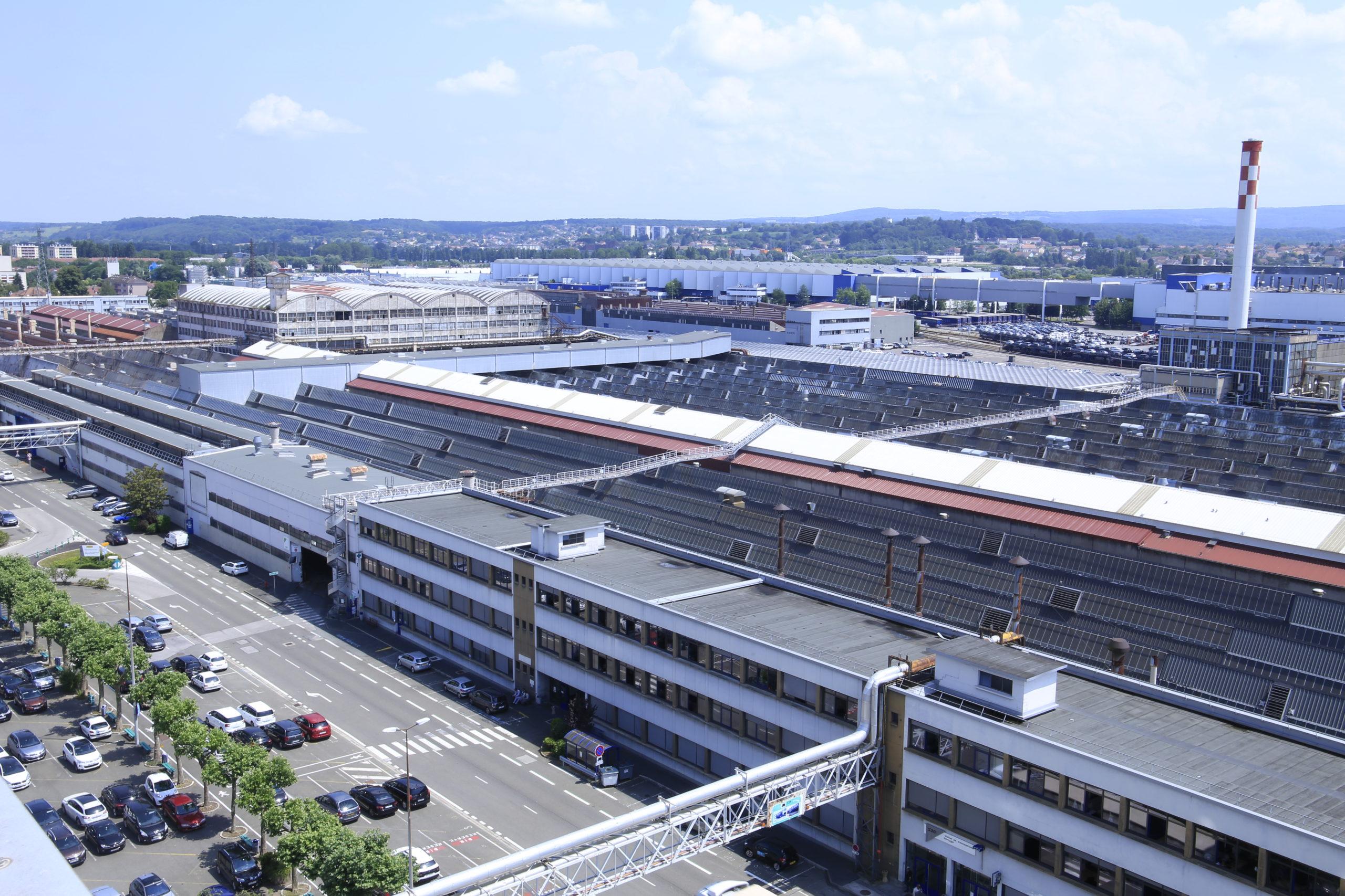 Site PSA Sochaux