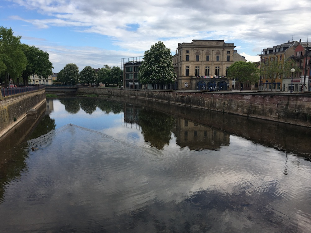 Une révision du plan de prévention des risques d'inondation est en cours pour la Savoureuse, dans le Territoire de Belfort et le Doubs.