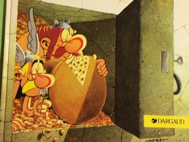 Uderzo Asterix chez les Helvètes