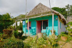 Maisons traditionnelles cubaines (©Gregmontani– Pixabay).