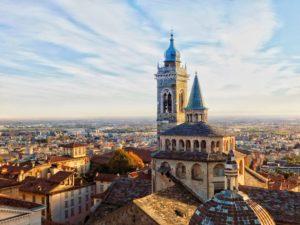 La basilique Santa Maria Maggiore de Bergame (© Gautier Drouin).