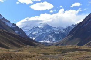 Le plus haut sommet de la Cordillère, l'Aconcagua, plus de 6900m (©Makulu– Pixabay).