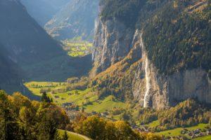 Vallée de Lauterbrunnen (©cmooreswitzerland).