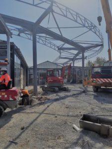 La crise sanitaire demande d'adapter les modes opératoires sur les chantiers.