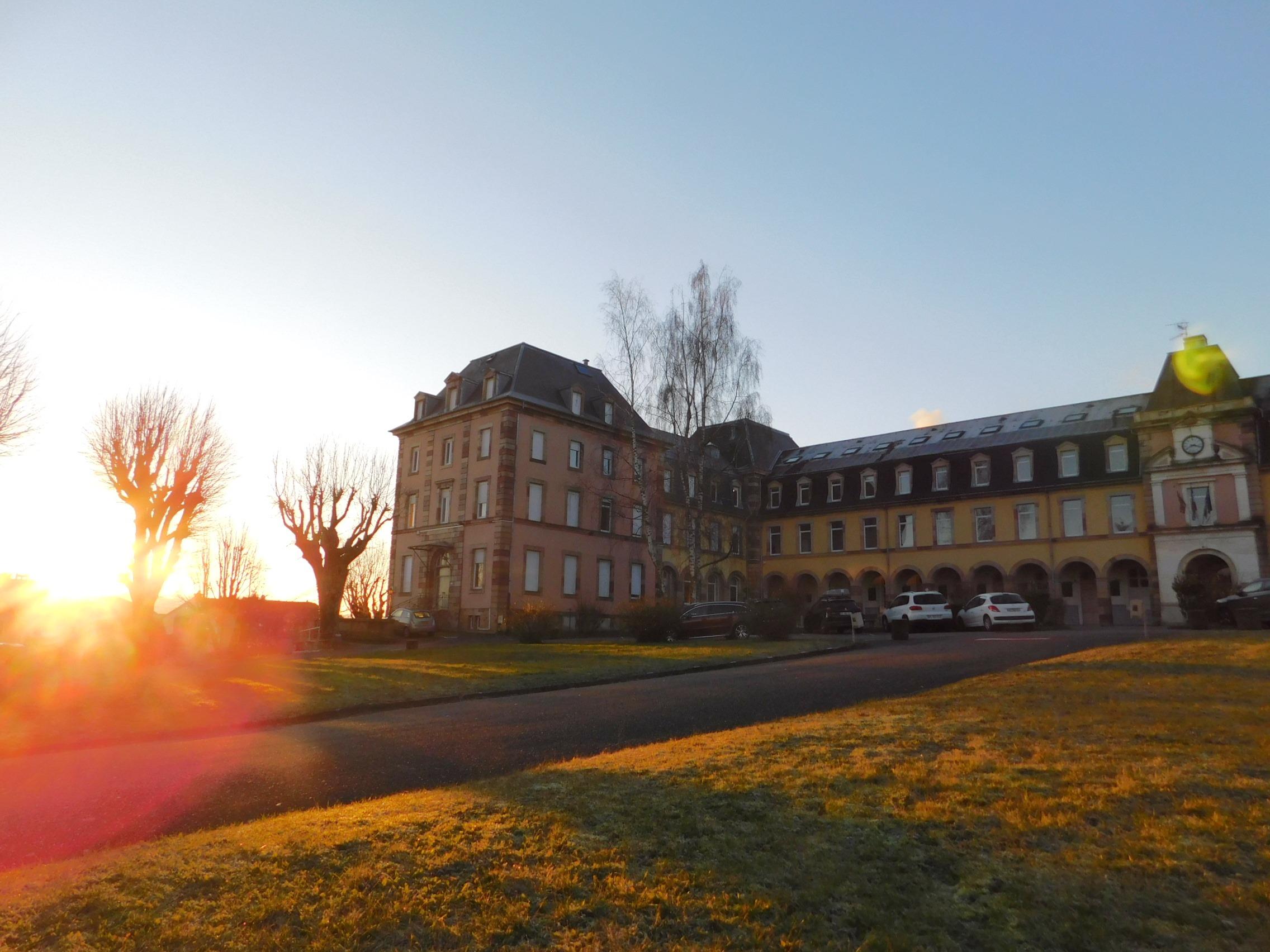 Lycée Condorcet, à Belfort (Gauthier Drouin)