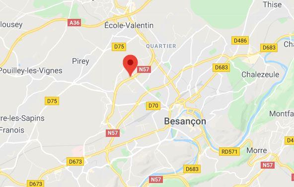 Quartier des Montboucons à Besançon.