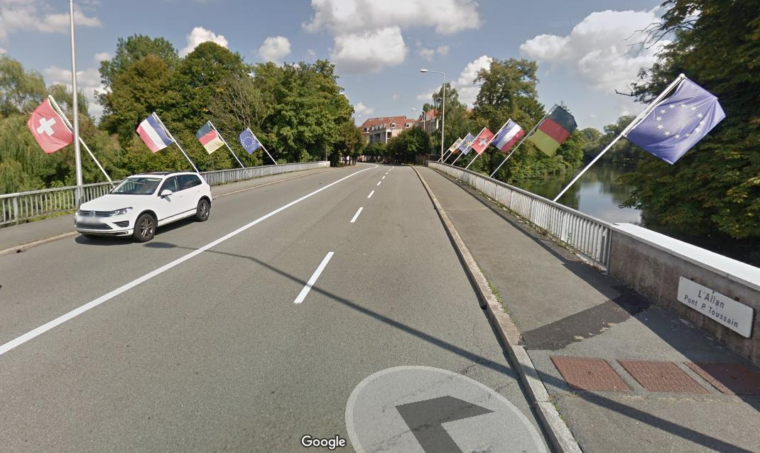 Montbéliard : le pont Pierre-Toussain fermé jusqu'au 15 mai en journée