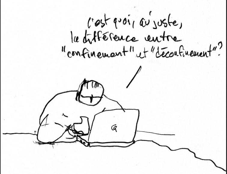 Édito écrit à l'occasion du déconfinement, par une apprentie de l'Illuminé, le journal des lycéens du lycée Condorcet, à Belfort.
