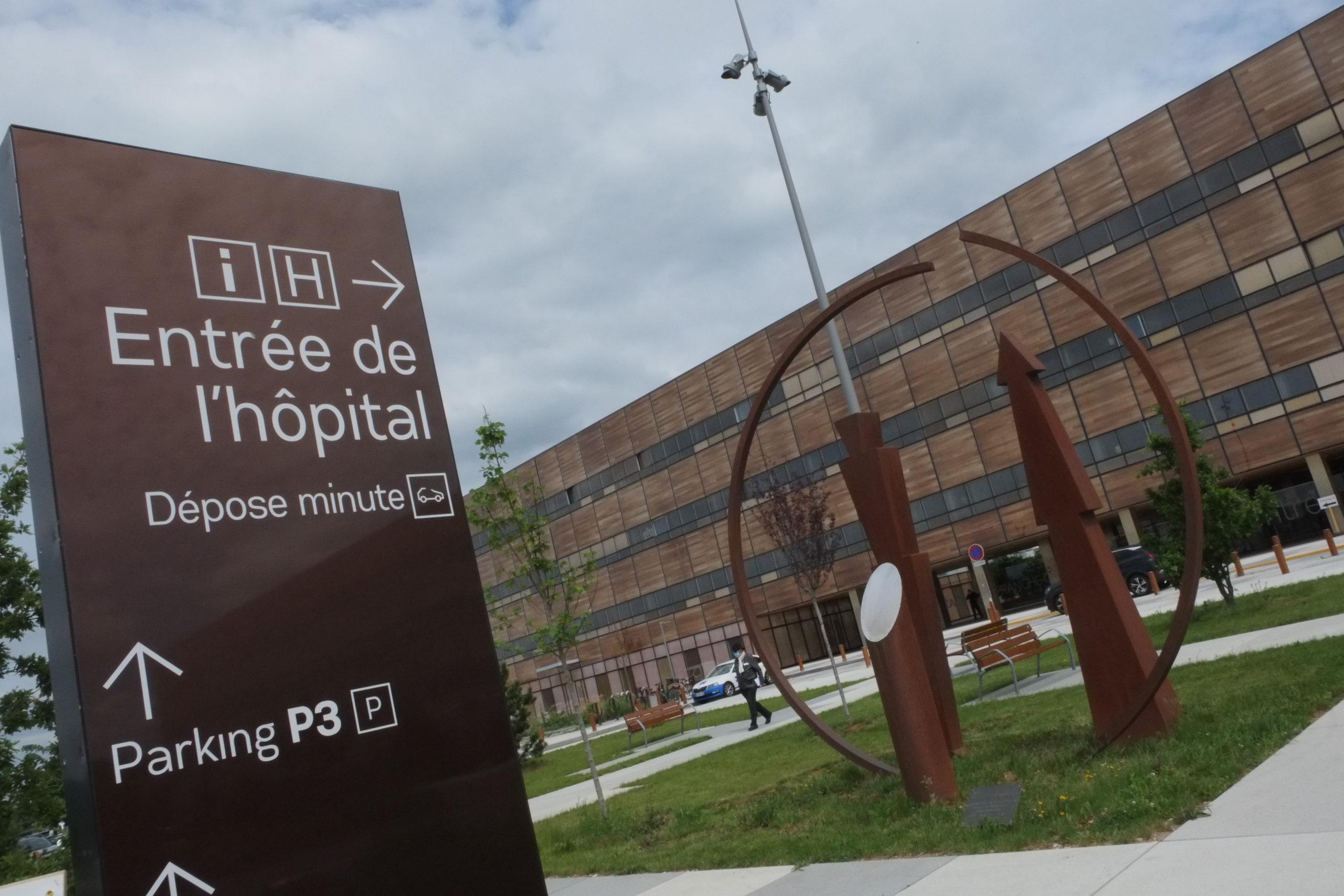 La tension continue de dominuer sur l'hôpital Nord-Franche-Comté.