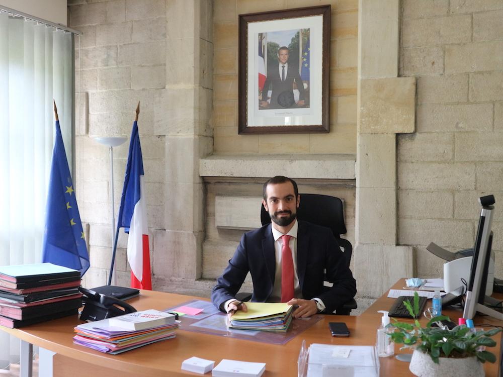 Mathieu Gatineau, nouveau secrétaire général de la préfecture Territoire de Belfort.