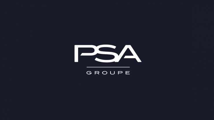 Le logo du Groupe PSA (Peugeot, Citroën, DS, Opel)