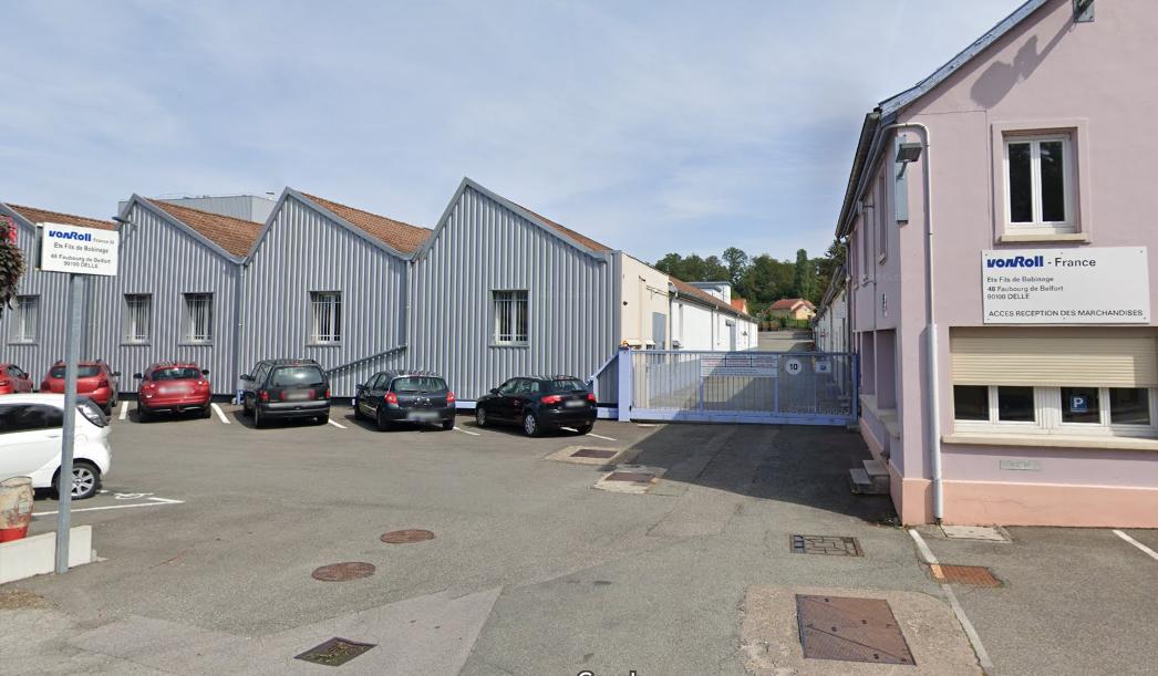 Von roll à Delle (google street view)