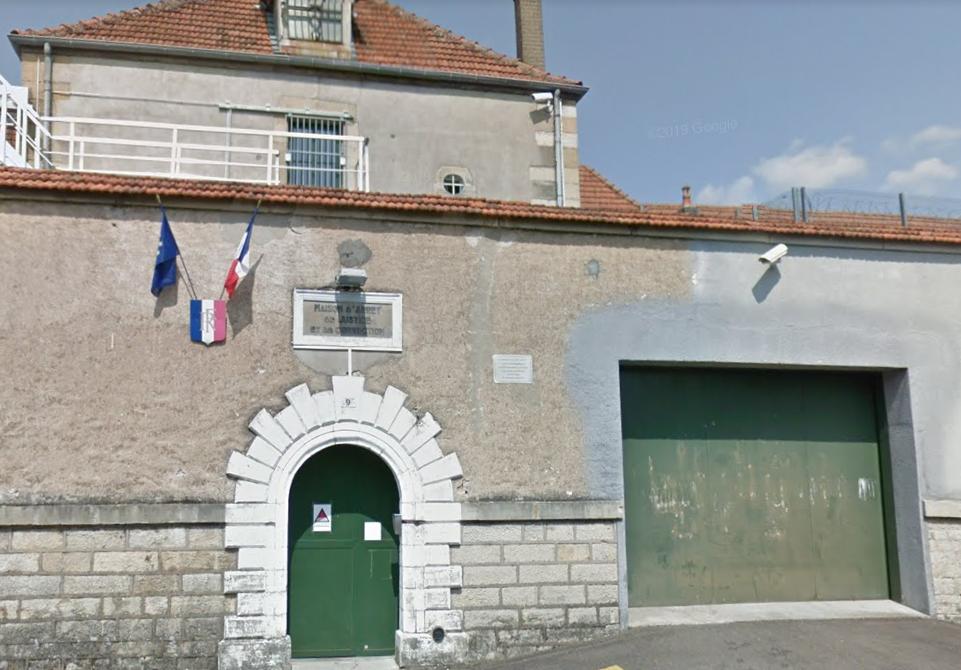 Un détenu se suicide à la maison d'arrêt de Vesoul, en Haute-Saône.
