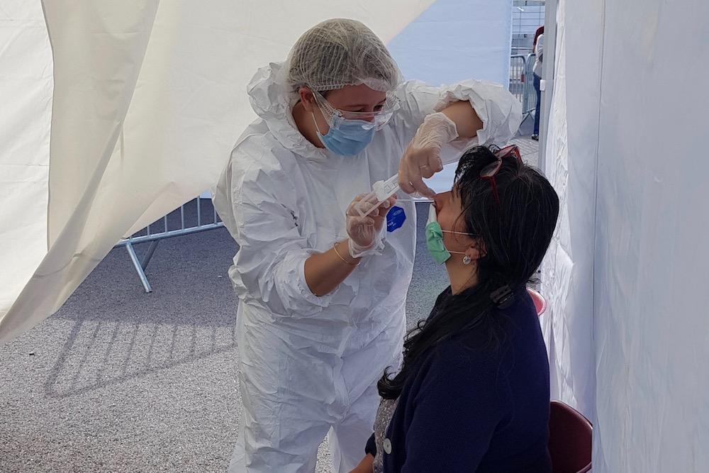 Les indicateurs de l'épidémie de covid-19 sont mal orientés dans la région Bourgogne-Franche-Comté.