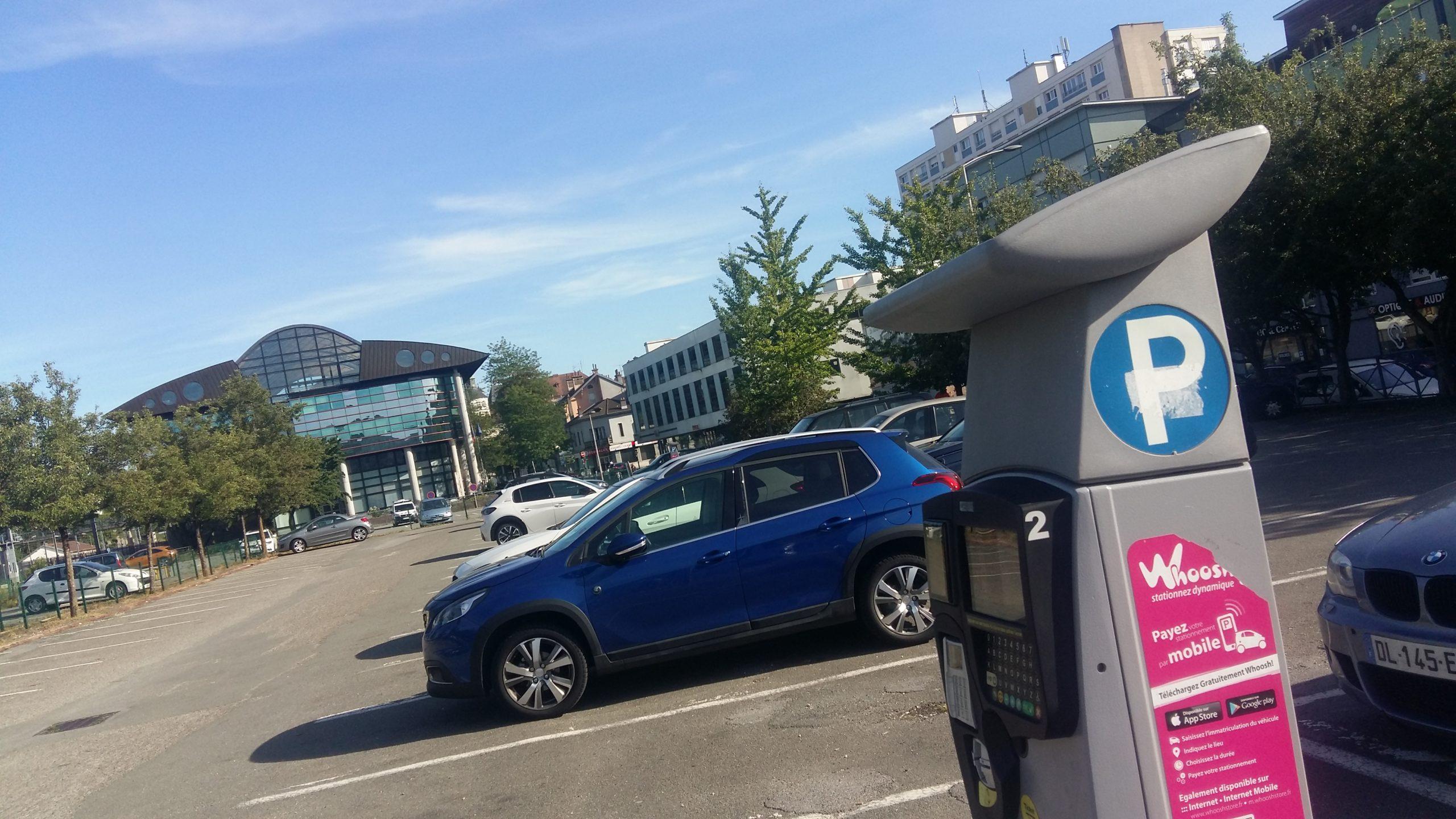 Le stationnement est gratuit à Montbéliard ce samedi 25 juillet.