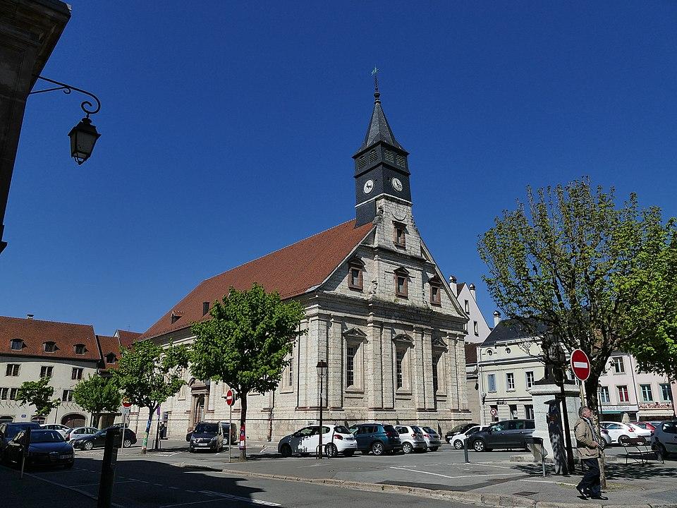 Temple Saint-Martin de Montbéliard (CC BY-SA 4.0)