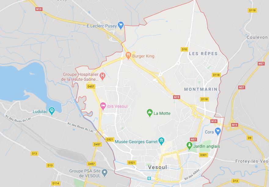 Vesoul (google map)