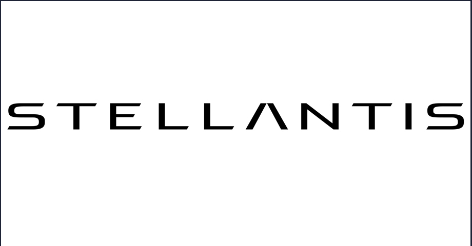 Nouveau logo Stellantis (capture écran PSA)