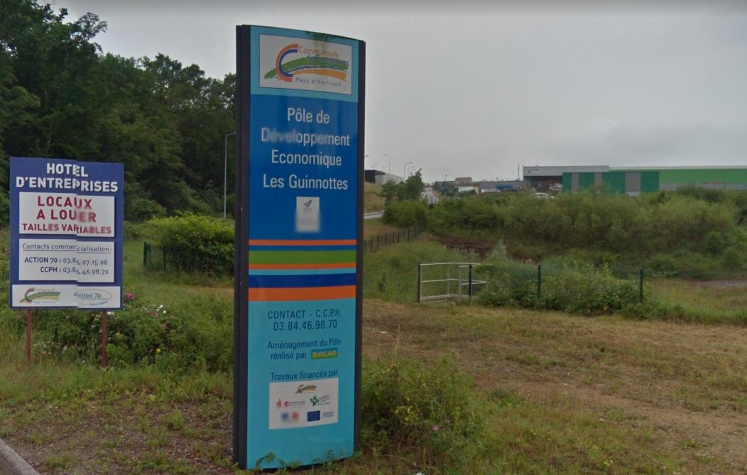 Technoland II à Étupes et les Guinnottes à héricourts sont identifiés comme zone industrielle pour faciliter les implantations.
