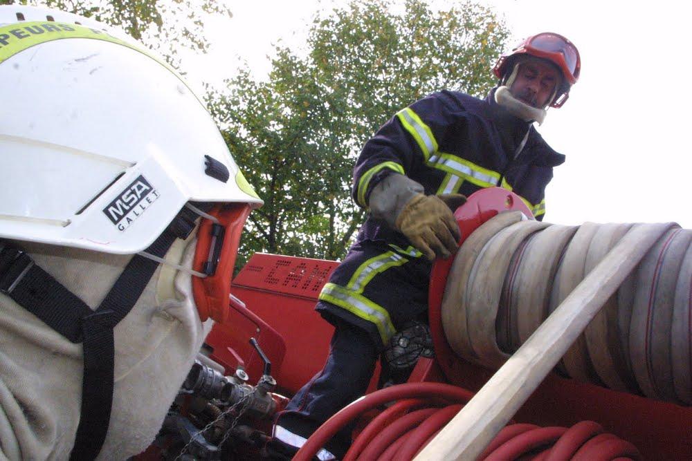 Des pompiers du Doubs et de Belfort en renfort dans le sud de la France