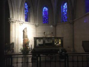 Le mausolé de Bernadette Soubirou à Nevers