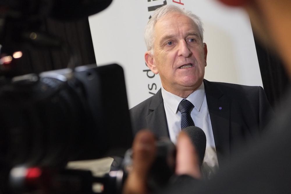 Charles Demouge (LR) a été réélu président de Pays de Montbéliard Agglomération. L'ambiance n'est pas sereine.